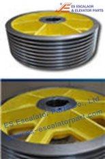 Thyssenkrupp Traction Sheave 200025329