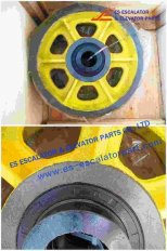 Thyssenkrupp Rope Pulley Assy  200360808