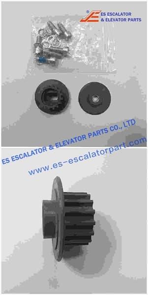 ESThyssenkrupp Door Motor Tooth Pulley 200401716