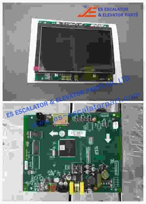 Thyssenkrupp 7 Color LCD Vertical 200287084