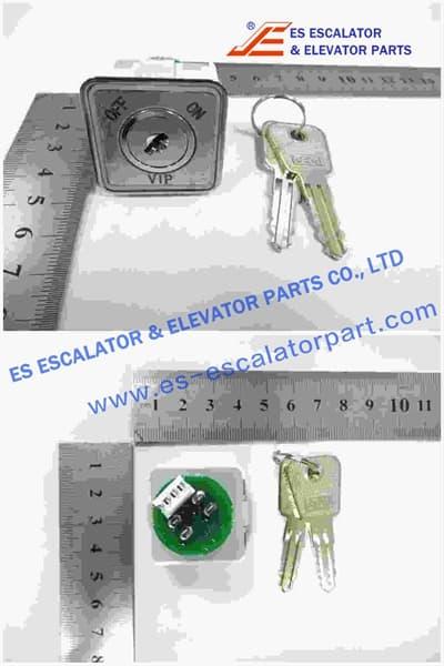 Thyssenkrupp VIP Key Switch 200356012