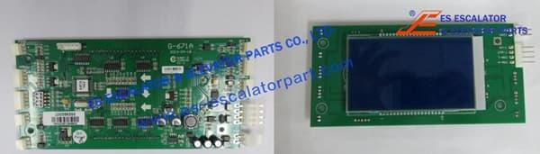 Thyssenkrupp LCD 4.3 For LIOP 200356202