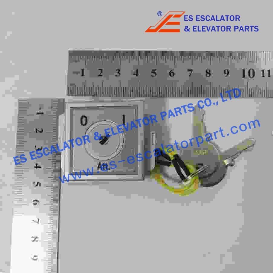 Thyssenkrupp Attendant Key Switch 330035025