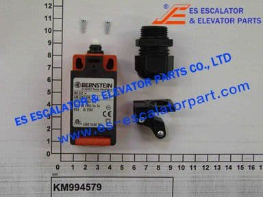 KONE Replaced by KM994579  LIMIT SWITCH J U1HZ 618.3121.00