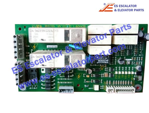 Schindler ID.NR.591840 brake control board