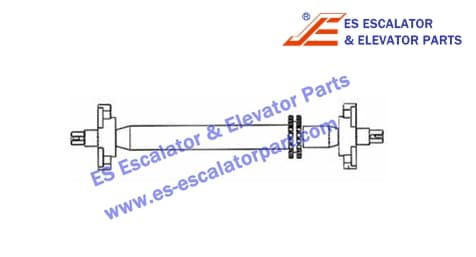 XIZI OTIS Handrail shaft XAA26180CL1