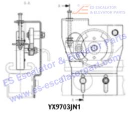 OTIS YX9703JN1 Safety Devices