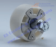 ROLLER AND WHEEL NEW XAA456BL
