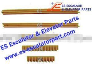 OTIS Escalator Parts GO455G3 Step Demarcation NEW