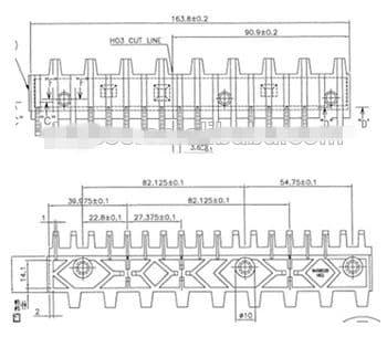 Escalator Part 645B028H02 Step Demarcation NEW