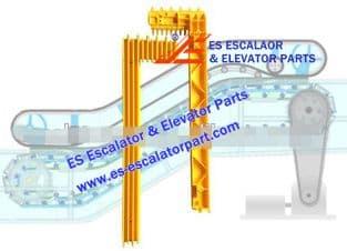 Escalator Part BTDM4002 Step Demarcation NEW
