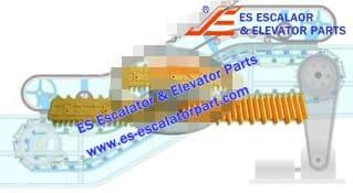 Escalator Part SHDM4001 Step Demarcation NEW