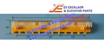 Escalator Part XAA455S3 Step Demarcation NEW