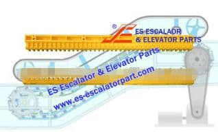 Escalator Part XDDM4086 Step Demarcation NEW