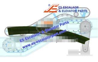 Escalator Part XDDM4164B Step Demarcation NEW