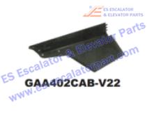 OTIS GAA402CAB-V22 Handrail Inlet