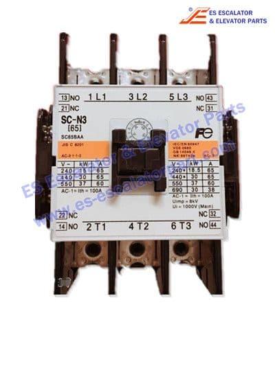 Elevator contactor SC-N3 for FUJI elevator