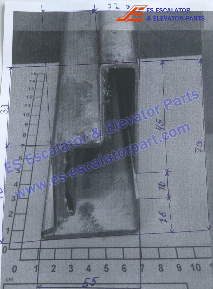 KONE Escalator KM5276303H01 Guide Rail