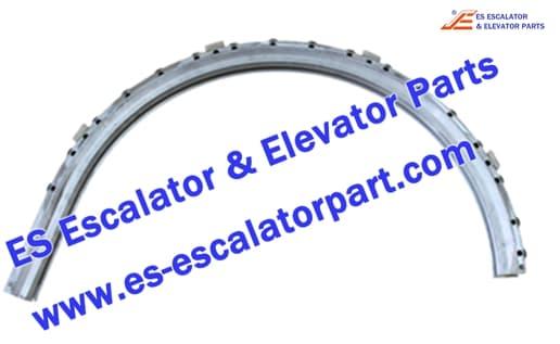 otis escalator DAA2000NNP1 506NCE aluminum balustrade guide