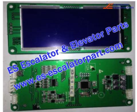 SJEC HCB-SL-H(Horizontal) Hall Indicator PCB