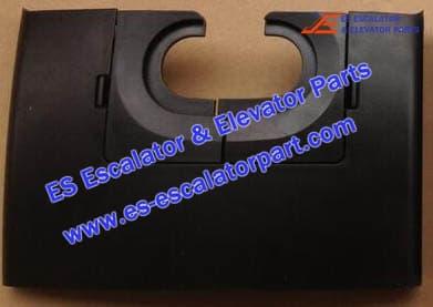 Thyssenkrupp Handrail Inlet NEW Front Skirt Left 8001690000