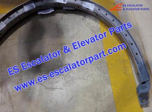 THYSSEN Escalator TUGELA 945 HANDRAIl TURNING