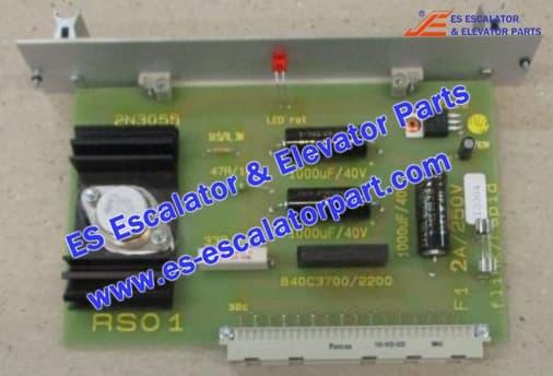 KONE Escalator Part DEE1534787 Switch and Board