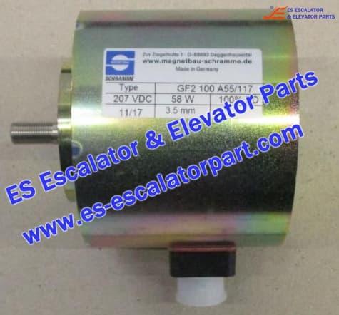 KONE Escalator Part DEE2429021 Escalator Brake Magnet