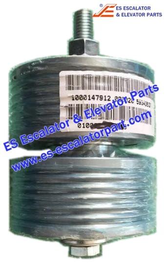 Schindler Elevator Parts 59315475 Belt guide pulley