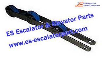 Thyssenkrupp Escalator Parts 7005940000 Singular Step Chain
