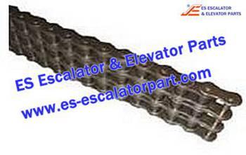 Thyssenkrupp Escalator Parts 7001220000 Roller chain