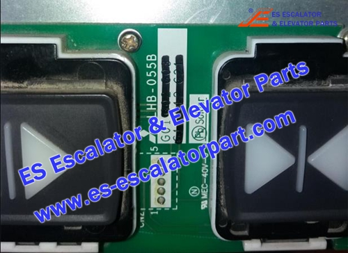 Mitsubishi Elevator parts LHB-055B Button Board