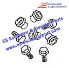 ESOTIS Elevator Parts AA27076KT1 Guide shoe