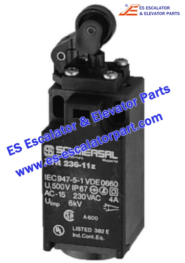 Thyssenkrupp Escalator Parts Z1R236-11Z Front panel micro switch