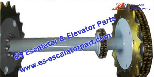 Thyssenkrupp Escalator Parts 1780383300 Main drive Axle
