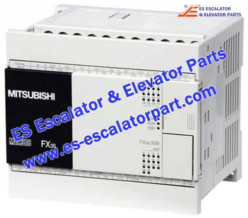 Mitsubishi Escalator Parts FX3SA-30MR-CM PLC