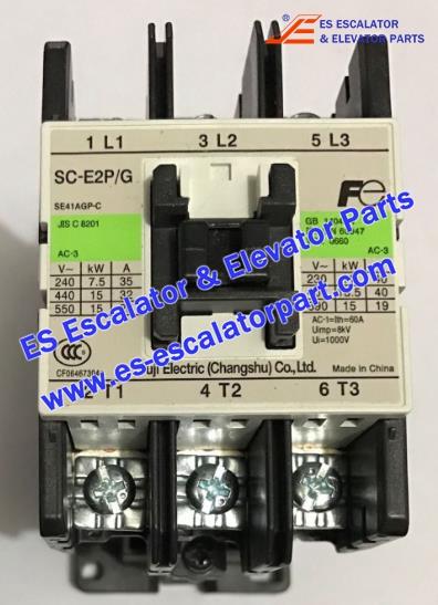 FERMATOR Elevator Parts SC-E2P/G Contactor