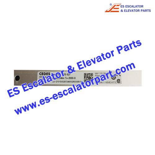 CEDES light curtain 105627 cegard-Mini Tx-2000-8