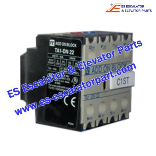 LG/SIGMA Escalator Parts TA1-DN22 Auxilary contact