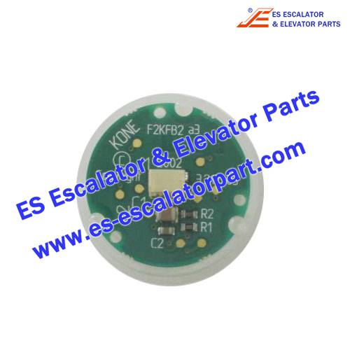 KONE KM804342G05 landing button base fc secondary for Elevator