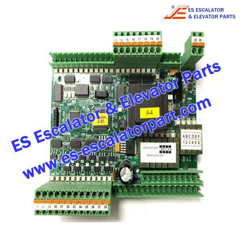 KONE Escalator KM3711815 ECO OPTION BOARD 501-B SCOPE OF SUPPLY