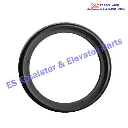Thyssen Escalator Handrail Friction Wheel Ring 1709115500 688*34mm