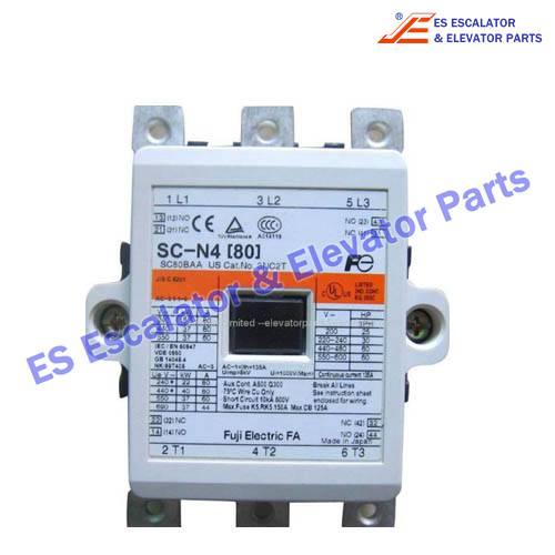 ESHitachi Elevator Parts SC-N4[80] Elevator Contactor