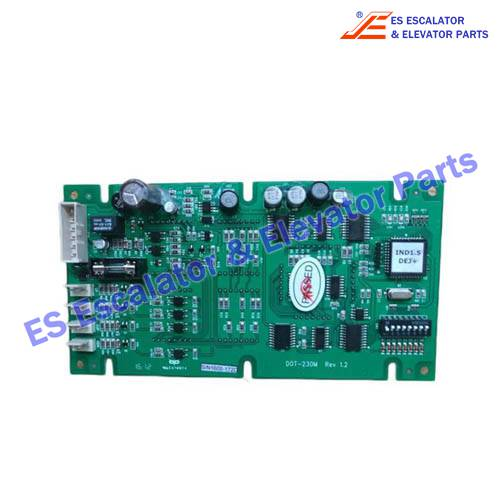 LG/SIGMA Elevator DOT-230M PCB